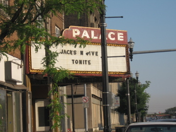 The Palace Theater in Gary, IN.
